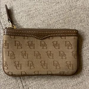 Dooney and Bourke coin purse